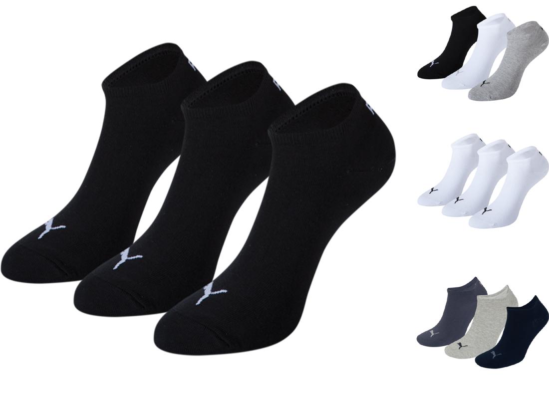 12-Paar-Puma-Sneaker-Fuesslinge-kurz-Groesse-Farbe-waehlbar