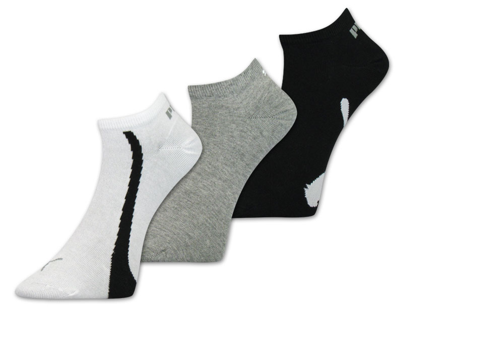 6-Paar-Puma-Sneaker-Socken-Fuesslinge-Unisex