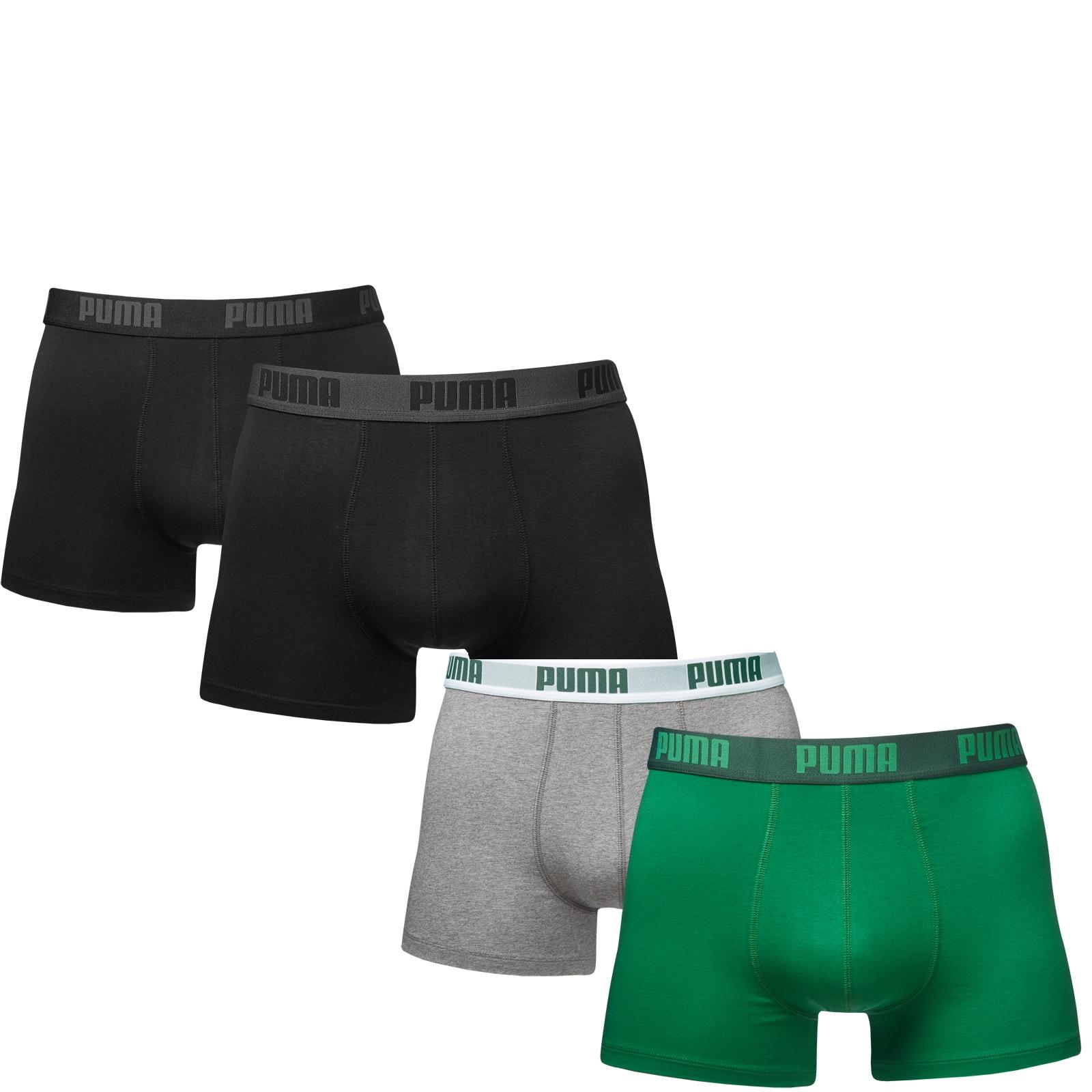 4er-Pack-Puma-Herren-Boxershorts-Unterhosen-S-M-L-XL-ver-Farbstellungen