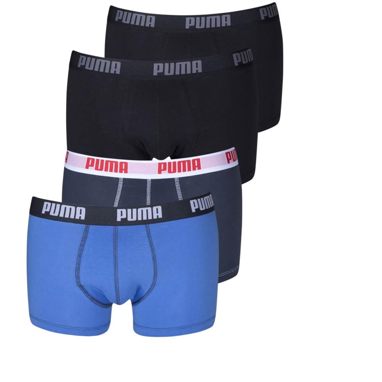 4er-Pack-Puma-Herren-Boxershorts-kurz-Unterwaesche-verschiedene-Farben-S-M-L-XL