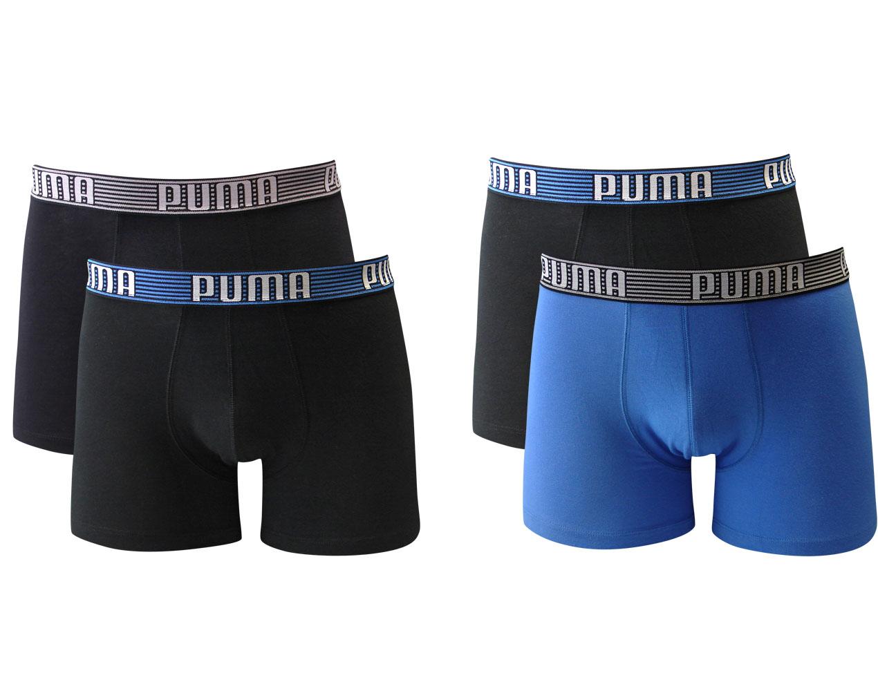 2-x-2er-Pack-Puma-Herren-Boxershorts-Striped-S-M-L-XL-Unterwaesche