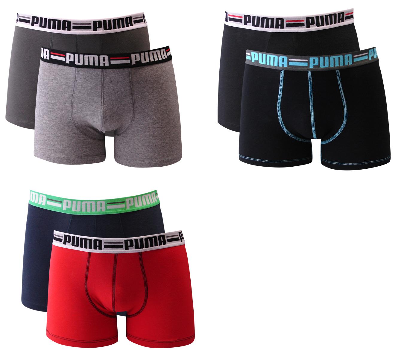 4er-Pack-Puma-Herren-Boxershorts-Brand-Gr-S-M-L-XL-Unterwaesche