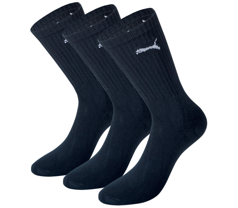 puma tennissocken sportsocken sneaker quarter f linge socken black. Black Bedroom Furniture Sets. Home Design Ideas
