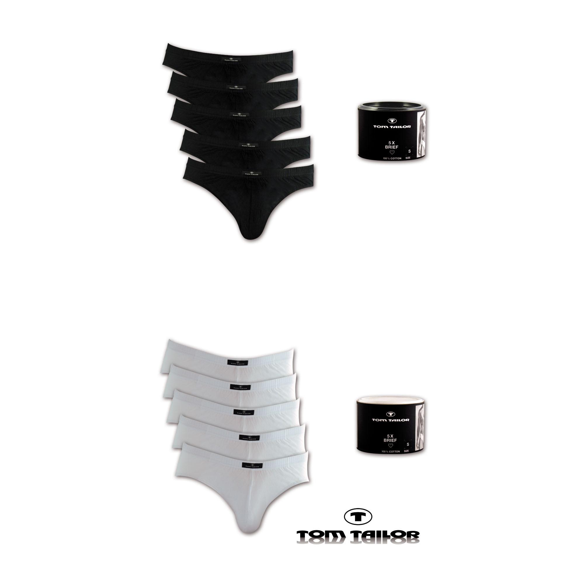 5er-Pack-Tom-Tailor-Herren-Slips-Unterhosen-Unterwaesche-S-M-L-XL