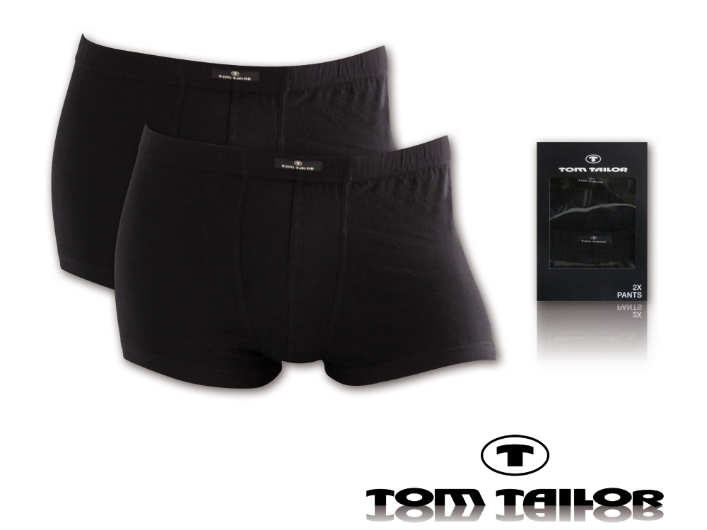 2er pack tom tailor herren boxershorts unterhosen gr s m. Black Bedroom Furniture Sets. Home Design Ideas